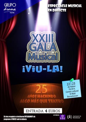 XXIII Gala Musical